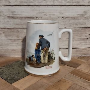Norman Rockwell Vintage Collectible Coffee Cup